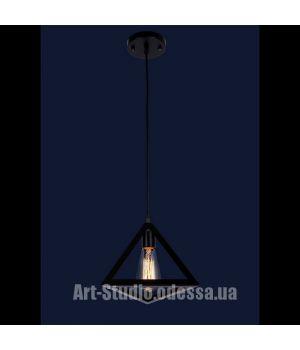 Лофт светильник 756PR220-1 BK