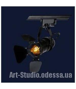 Светильник Трэк   лофт 761GD01-1 BK (трек)
