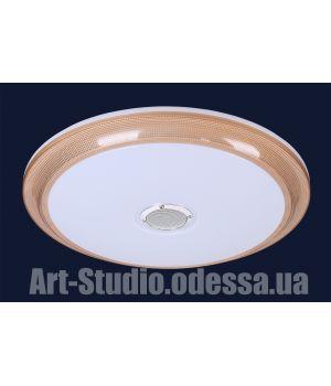 Люстра потолочная с музыкальной колонкой 762HS002 LED 24+24W (500)