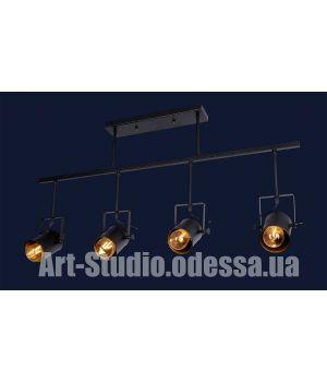 Светильник прожектор лофт 759Y6040-4 BK