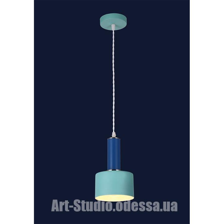 Люстра подвес лофт 7529517 BLUE-INDIGO