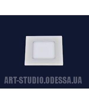 Точечный светильник 728BBWY-MBD-3W (квадрат) теплый, холодный, нейтральный