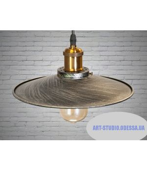 Cветильник в стиле Loft 6586-260-BK-SV