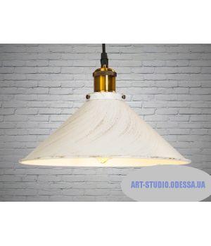 Светильник в стиле Loft 5586-300-WH-G (белый, черный)
