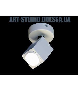 Накладной точечный светильник 130A-1-WH