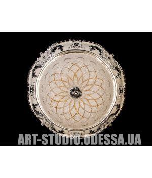 Настенно-потолочный светодиодный светильник 35W 8083-400-E HR (золото)