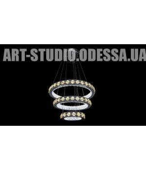 Декоративная хрустальная люстра 8004-500+400+250