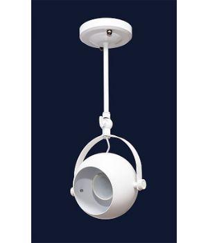 Накладной светильник лофт 7521209-1В (черный,белый)