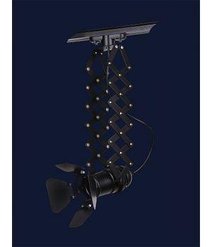 Светильник прожектор лофт 75224 BK (трек)