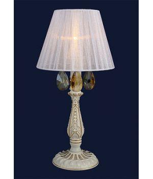 Настольная лампа в классическом стиле (755MK30027T-1 WT+FGD)