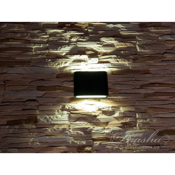 Плоский фасадный LED светильник DFB-8023GR CW