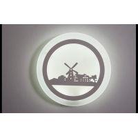 Светодиодное бра,настенный светильник 86756/240 WH