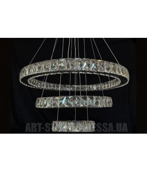 Декоративная хрустальная люстра A7201W/650+400+200