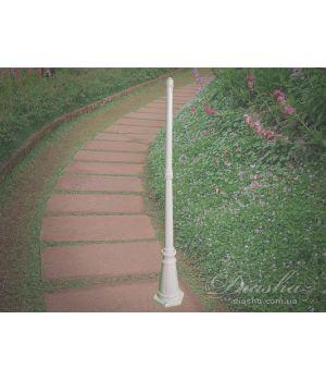 Основание столб( 1,7 м) для садово-паркового светильника D203 WH