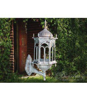 Светильник садово-парковый DJ018-M-W1 WH