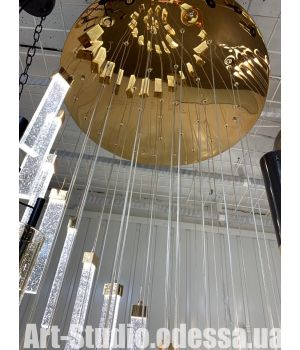 Люстра Каскад LED V6016/36 200W  (золото )
