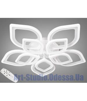 LED-люстра с диммером и RGB подсветкой, 190W 8073/5+5 LED RB dimmer