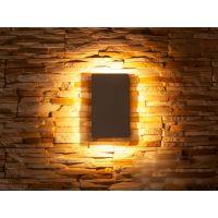 Плоский фасадный LED светильник DFB-5002WH