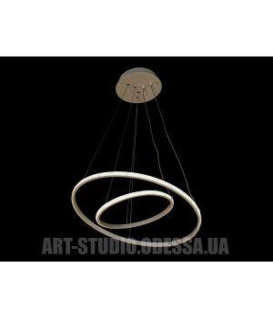 LED люстра подвесная, 35W MD9079-2AWH-500+300