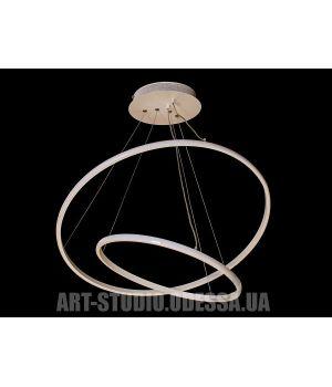 LED люстра подвесная, 45W MD9079-2AWH-600+400