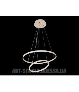 LED люстра подвесная, 35W MD9079-2WH-500+300