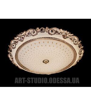 Настенно-потолочный светодиодный светильник 45W 8027-500-A HR (хром,золото)