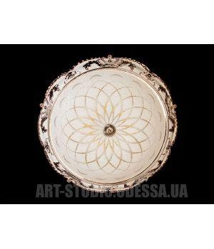 Настенно-потолочный светодиодный светильник 45W 8083-500-E G (хром,золото)