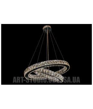 Декоративная хрустальная люстра Овал 7242-7A/400+230