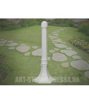Основание столб для садово-паркового светильника P6 WH
