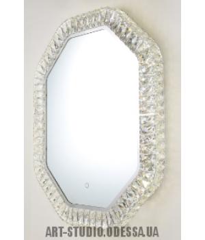 Зеркало со встроенной подсветкой и сенсорным управлением, 16W B2837-800x600