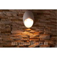Однолучевая архитектурная LED подсветка светильник-ракушка HS9010WH