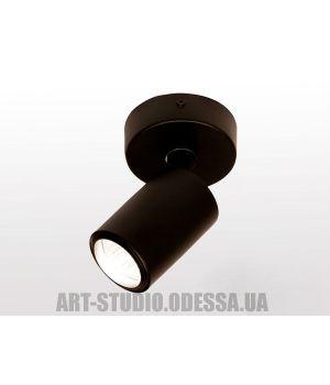 Накладной точечный светильник 130A-BK