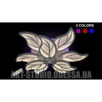 Светодиодная припотолочная люстра, 140W 8881/6+3 Color LED