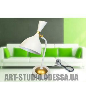 Стильная настольная лампа 3095/T WH