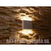 Плоский фасадный LED светильник DFB-8023WH NW