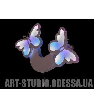 """Светодиодное бра """"бабочки"""", 36W 8067/2WH RGB"""
