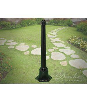 Основание столб для садово-паркового светильника P1 BK