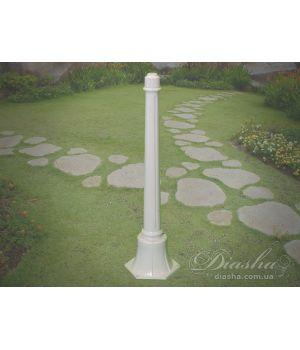 Основание столб для садово-паркового светильника P1 WH