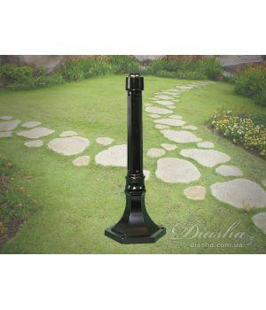 Основание столб для садово-паркового светильника P6 BK