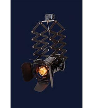 Подвесной прожектор на треке и пружине 75214 BK