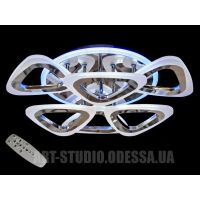 Потолочная люстра, 80W AS8118/3+3HR LED 3color dimmer (золото)