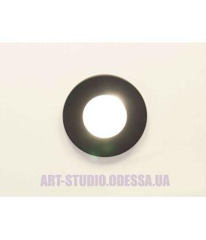 """Влагозащищённый точечный светильник, серия """"Аluminium  160B-40-BK"""