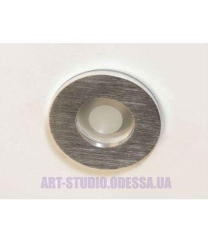 """Влагозащищённый точечный светильник, серия """"Аluminium"""" 160B-40-R-SL"""