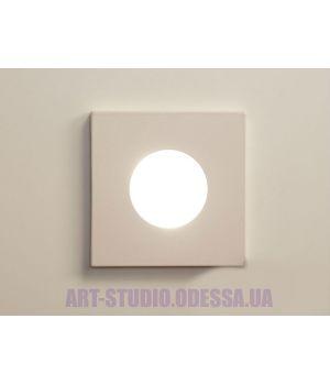 """Влагозащищённый точечный светильник, серия """"Аluminium"""" 160B-41-WH"""