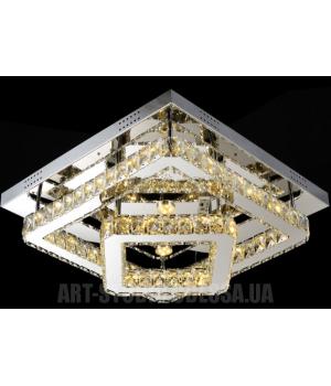 Потолочная светодиодная люстра LM9034/500*500 dimmer