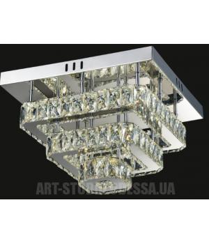 Потолочная светодиодная люстра LM9034/400*400 dimmer