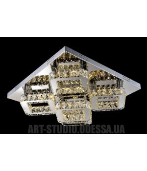 Потолочная светодиодная люстра, 50W LM9095/600*600 dimmer