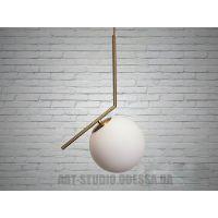 Светильник-подвес в стиле лофт Z-200GG (хром,золото)