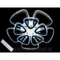 Потолочная светодиодная люстра с пультом, 145W QX2524/5+5BK LED 3color dimmer (белая,черная,коричневая)