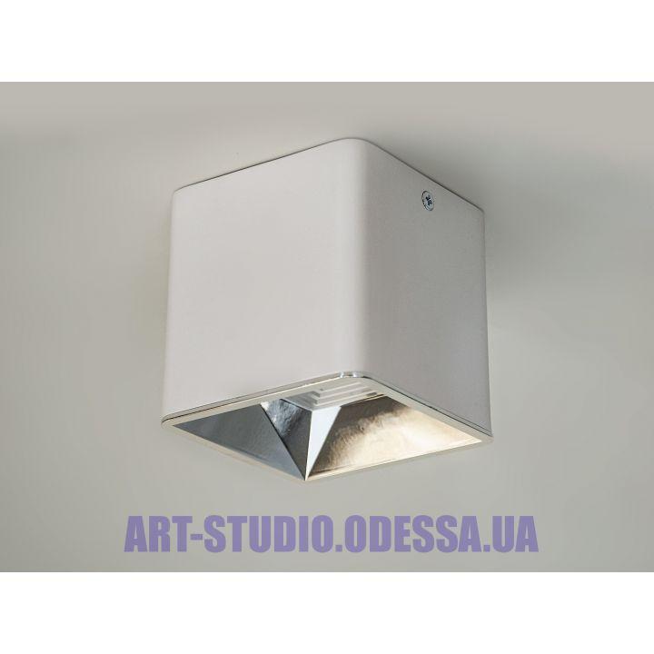 Накладной точечный светильник 116S-90-WH+SL